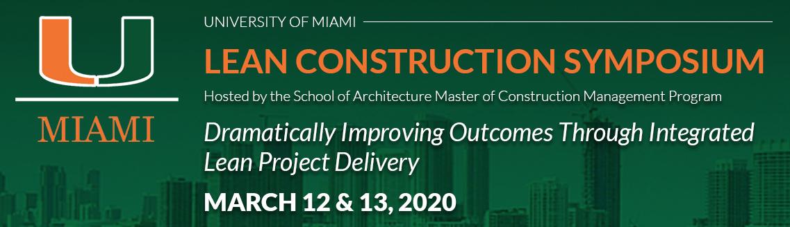 UM Lean Consortium Symposium details banner