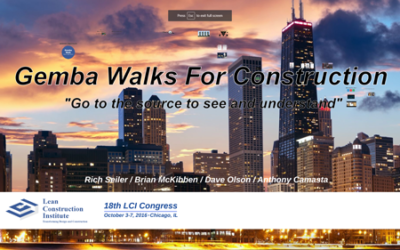 Gemba Walks For Construction
