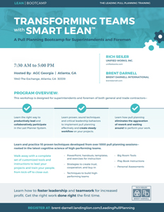 A LEAN COACHES PULL PLANNING CLINIC PDF
